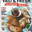 Cooking Light Fast & Fresh 30-Minute Meals (SPC Special Edition Cookbook) . Magazine