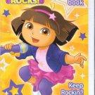 Nickelodeon Dora Rocks Activity Book (Includes Stickers) Keep Rockin'!
