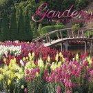 Gardens 2017 Wall Calendar (16 Month)