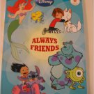 Disney Always Friends ~ Lilo & Stitch, Monster Inc. Little Mermaid etc. Coloring Book