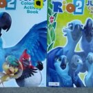 Rio 2 Jumbo Coloring & Activity Book (96 Pages) Assorted