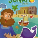 Big Book of Stickers - The Story of Jonah - Activity Book Includes Over 80 Stickers