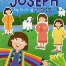 Big Book of Stickers - The Story of Joseph - Activity Book Includes Over 80 Stickers