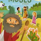 Big Book of Stickers - The Story of Moses - Activity Book Includes Over 80 Stickers