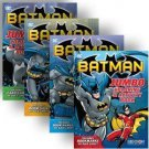Batman Jumbo Coloring & Activity Book 4-Pack