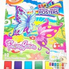 Savvi Magic Paint Posters ~ Fantasy Garden by Savvi. Water coloring book