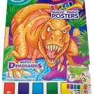 Savvi Magic Paint Posters ~ Mighty Dinosaurs. Water coloring book