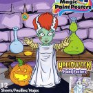 Savvi Magic Paint Posters - Halloween - v3. Water coloring book