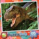 T-rex - Puzzlebug 100 Piece Jigsaw Puzzle by Puzzlebug