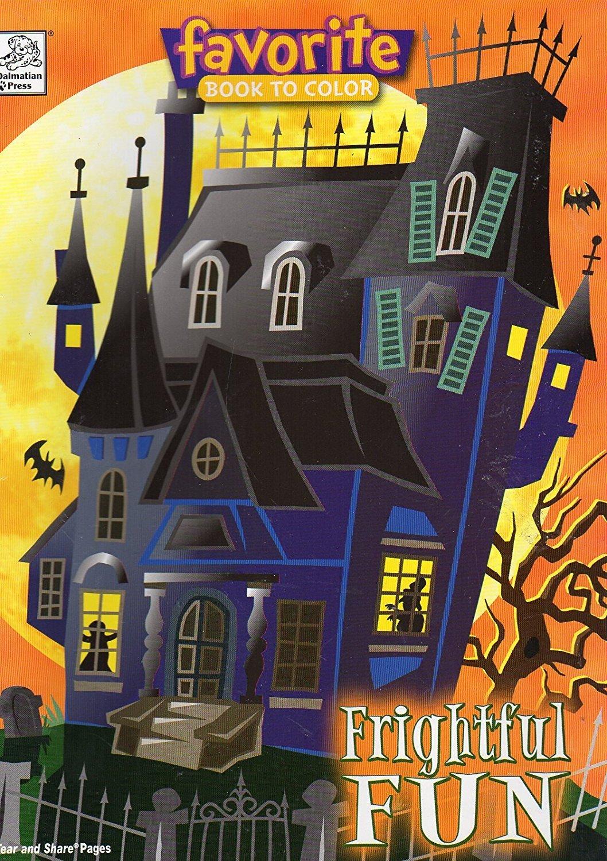 Halloween Favorite Book to Color - Frightful Fun