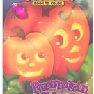 Pumpkin Glow [With Stickers] (Glow in the Dark Sticker Book to Color)