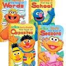 Sesame Street Shaped Board Book Set ~  (Set of 4)