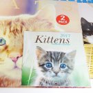 2017 Kittens Cats 12 month Wall Calendars