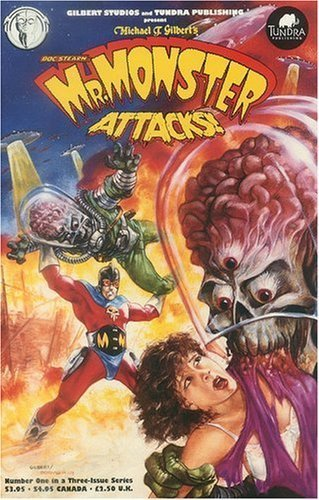 Mr. Monster Attacks! (1 of 3). Book.   Michael T. Gilbert
