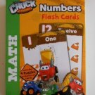 Tonka Chuck & Friends Numbers Flash Cards Pre K-K 36 Math Cards