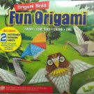 Origami Birds Kit - 12 Patterned Origami Sheets and Instructions. Activity Book