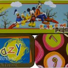 "Disney Mickey and Friends Metal Tin Pencil Box Case 8"" - Assorted"