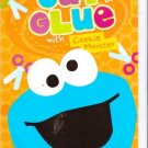 Cut & Glue with Cookie Monster (Sesame Street). Activity book