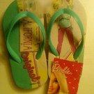 Barbie Flip Flops Size S 8 - 9 (Kids)