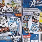 Cardinal Marvel Avengers Assemble 2 Card Games, Rummy and War