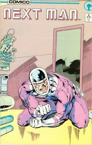 Next Man #2 .Book.  Comic.  Roger McKenzie