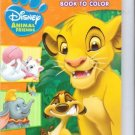 Disney Animal Friends Big Fun Book to Color ~ Fun for All