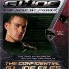 The Confidential G.I. JOE Files (G.I. Joe: the Rise of Cobra) . Book.