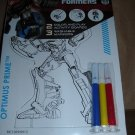 Pop Outz! - Transformers Color and Play Activity Boards - Styles Vary