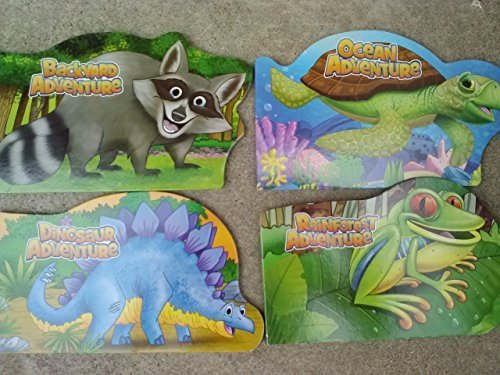 Shaped Animal Adventure Board Books (Assorted, Designs & Quantities Vary). Book .