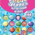 Squinkies Glitter Sticker & Activity Book