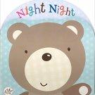 Night Night Shaped Foam Book (Little Learners) Foam Book