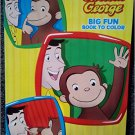 Curious George Big Fun Book to Color ~ Friends Are Forever!