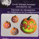 Halloween Glow Pumpkin Decorating Kits- Makes 4