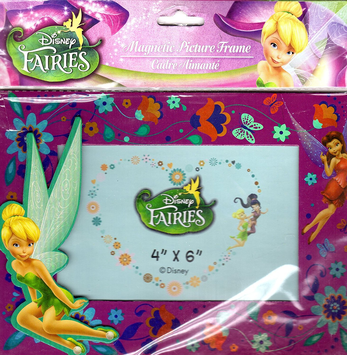 Disney Fairies - Magnetic Picture Frame (4x6 In)