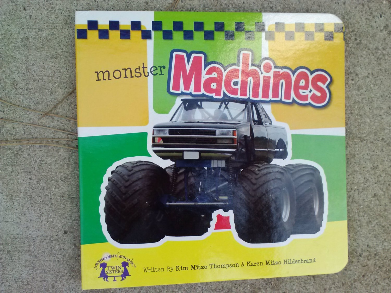 Monster Machines Board book