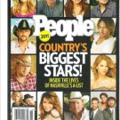 People Country's Biggest Stars 2011 Magazine
