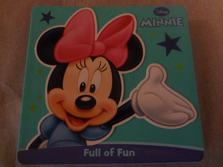 Disney Foam Covered Board Book ~ Minnie Mouse: Full of Fun