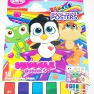 Savvi Magic Paint Posters ~ Snuggle Buddies. Water coloring book
