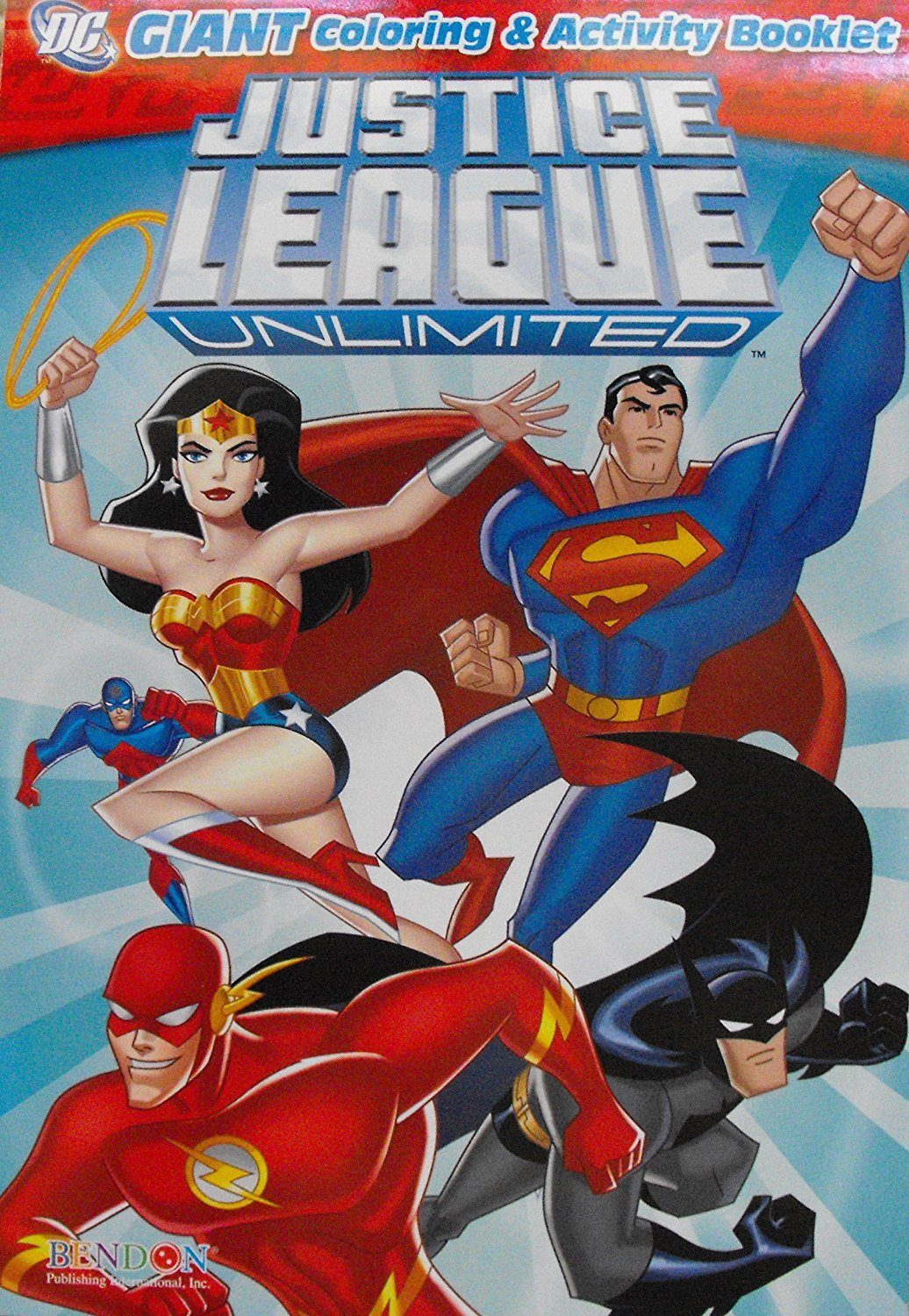 Justice League Unlimited Coloring & Activity Book
