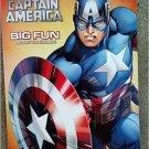 Marvel Captain America Big Fun Book to Color ~ Mighty Shield
