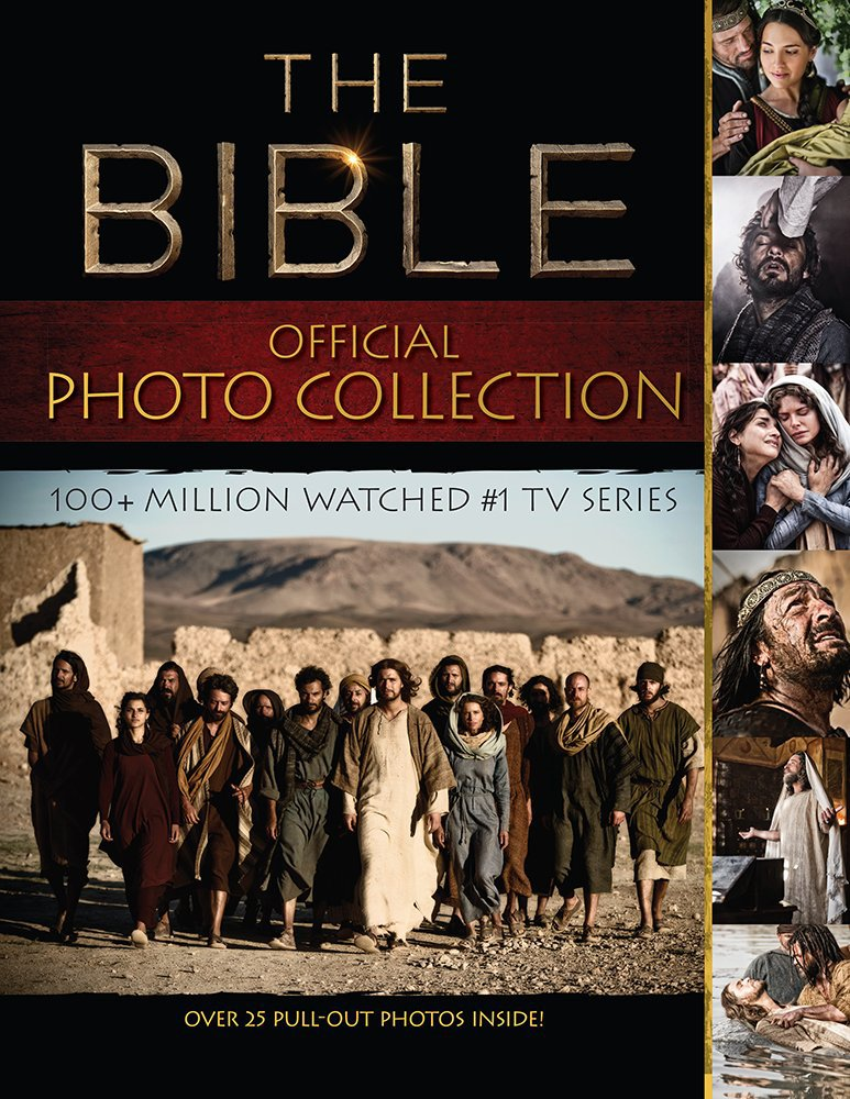 The Bible (TV Series) Photo Collection. Book.  BrownTrout