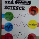 Math & Science Dry-Erase Wipe-Clean . Activity Book