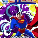 The Man of Steel: Superman Battles Parasite's Feeding Frenzy. Book.   Scott Peterson