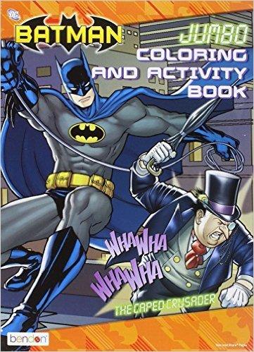 Batman Jumbo Coloring & Activity Book ~ the Caped Crusader