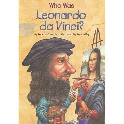 Who Was Leonardo da Vinci? Book.   Roberta Edwards