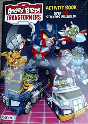 Angry Birds Transformers Activity Book (Over 30 Stickers Included)