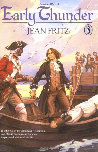 Early Thunder. Book.    Jean Fritz