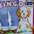 B-I-N-G-O with 20 Song Music CD. Book