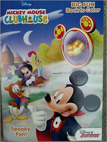 Mickey Mouse Clubhouse Halloween Big Fun Book to Color ~ Spooky Fun