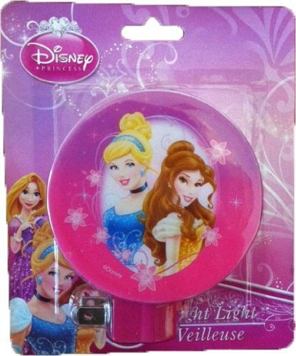 Disney Princess Night Light Belle and Cinderella